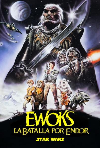 La batalla del planeta de los Ewoks (1985)