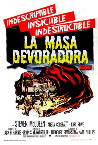 La masa devoradora (1958)