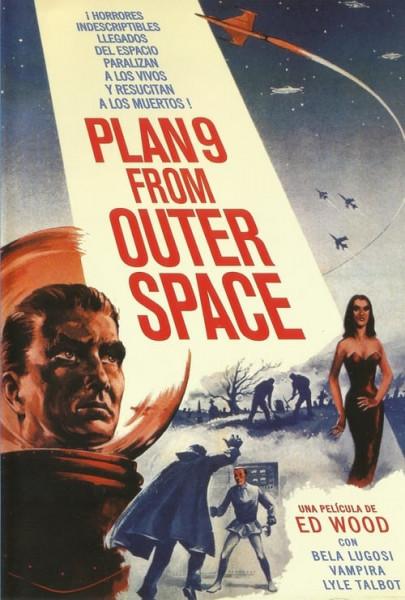 Plan 9 del espacio exterior (1959)