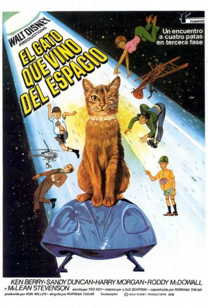 El gato que vino del espacio (1978)