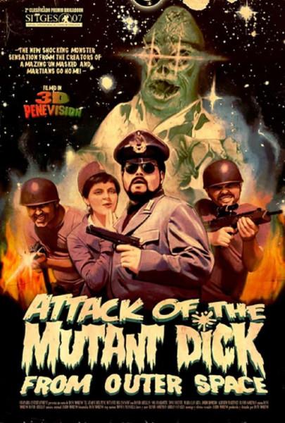 El ataque del pene mutante del espacio (2007)
