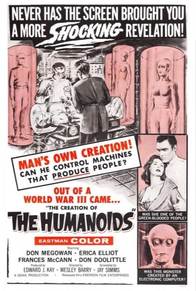 La creación de los humanoides (1962)