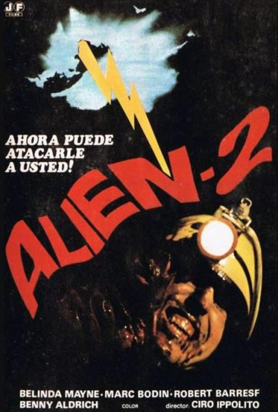 Alien-2: Sobre la Tierra (1980)
