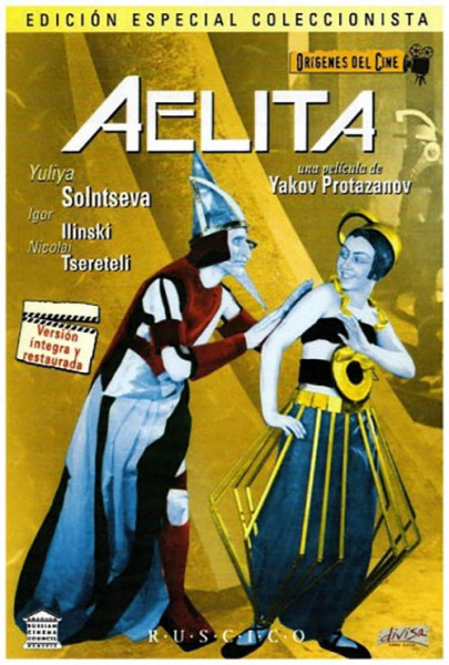 Aelita: Reina de Marte (1924)