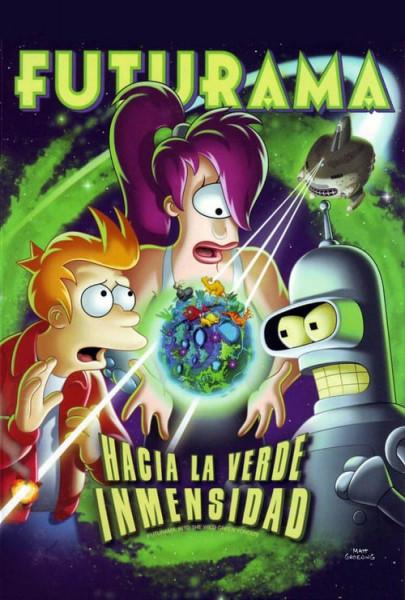 Futurama: Hacia la verde inmensidad (2009)