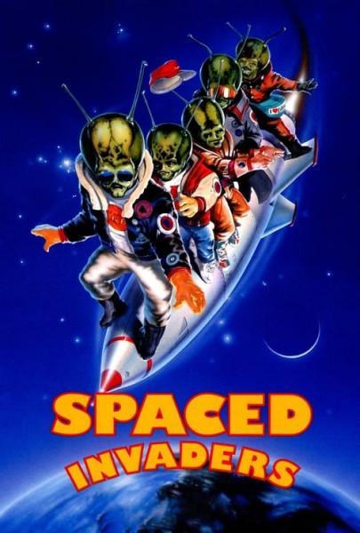 Locos invasores del espacio (1990)