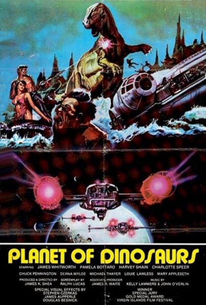 El planeta de los dinosaurios (1977)