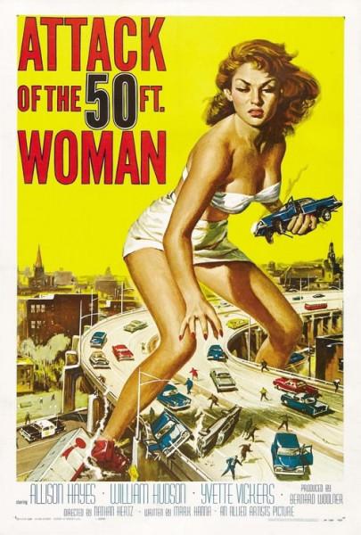 El ataque de la mujer de 50 pies 1 (1958)