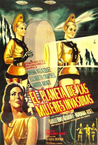 El planeta de las mujeres invasoras (1967)
