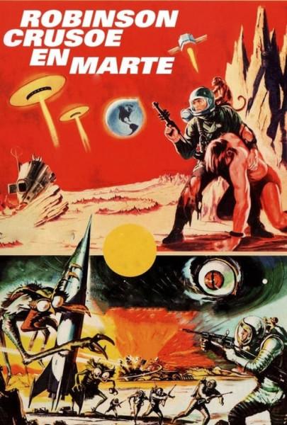 Robinson Crusoe de Marte (1964)