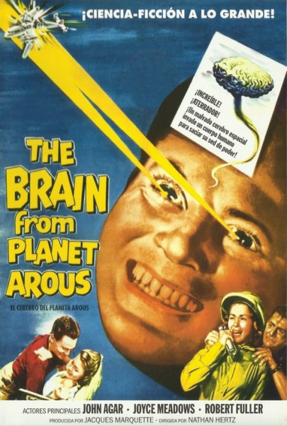 El Cerebro del Planeta Arous (1957)