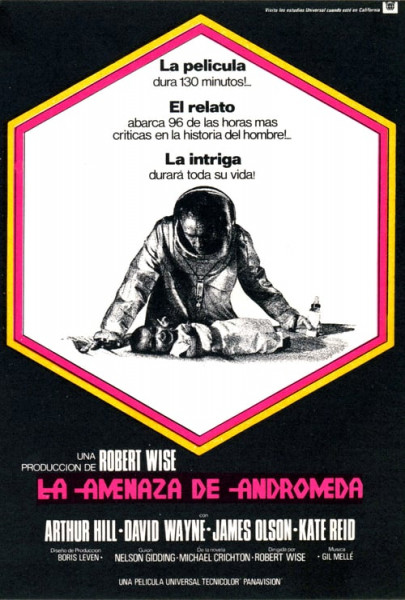 La amenaza de Andrómeda (1971)