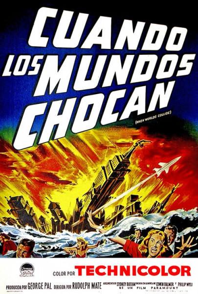 Cuando los mundos chocan (1951)
