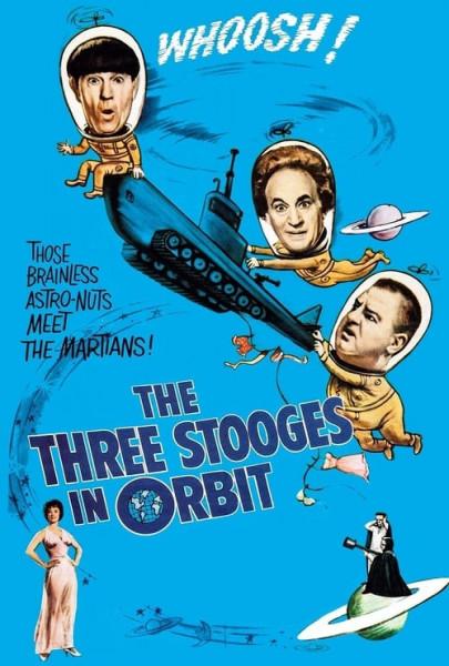 Tres chiflados en órbita (1962)