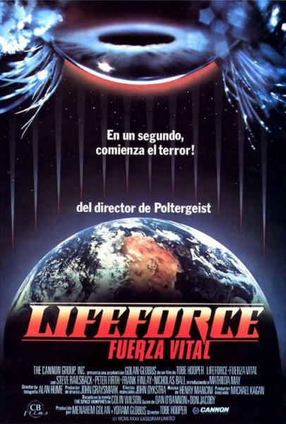 Lifeforce, fuerza vital (1985)