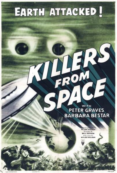 Asesinos del espacio (1954)