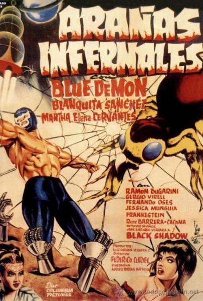 Blue Demon y las Arañas infernales (1968)
