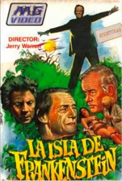 La isla de Frankenstein (1981)
