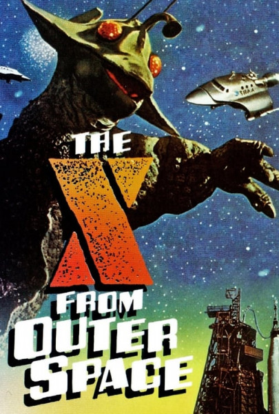 X del Espacio Exterior, The X from Outer Space (1967)