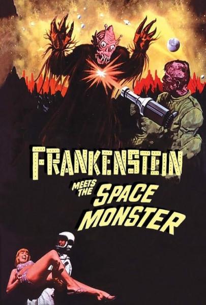Frankenstein contra el monstruo del espacio (1965)