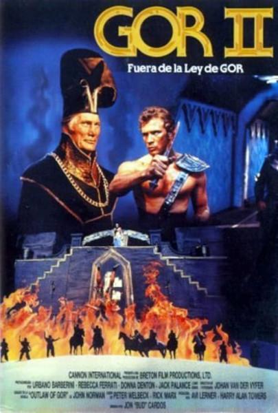Gor II: fuera de la ley de Gor (1988)